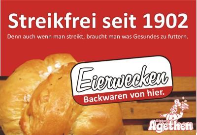 Agethen´s Streikfreier Eierwecken 2014