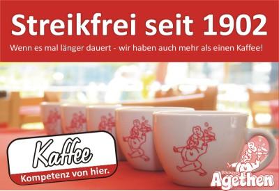 Streikfreier Kaffee 2014