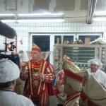 Duisburger Karneval! Prinz Thomas I. empfängt sein Prinzenbrot