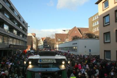 Heute ist Remmi Demmi in der Oberhausener Innenstadt!