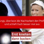 Ein handwerklicher Gruß an die Einbrecher in Schmachtendorf…