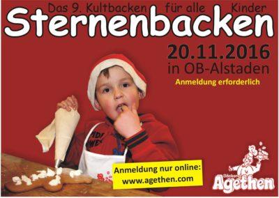 Agethens Sternebacken IX in 2016 *ANMELDESTART*