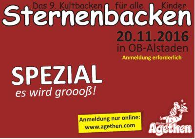 Sternebacken IX 2016 – SPEZIAL